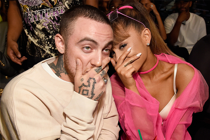 ariana grande respond the death of mac miller