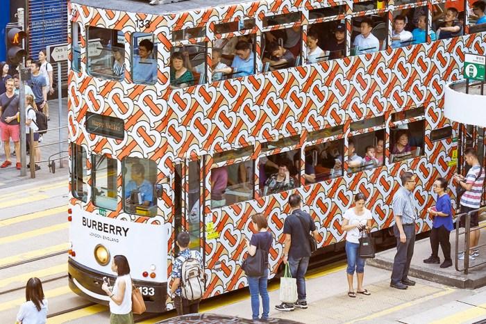 Burberry 設計的叮叮車你見過了嗎?每個城市都有意想不到的打卡驚喜!