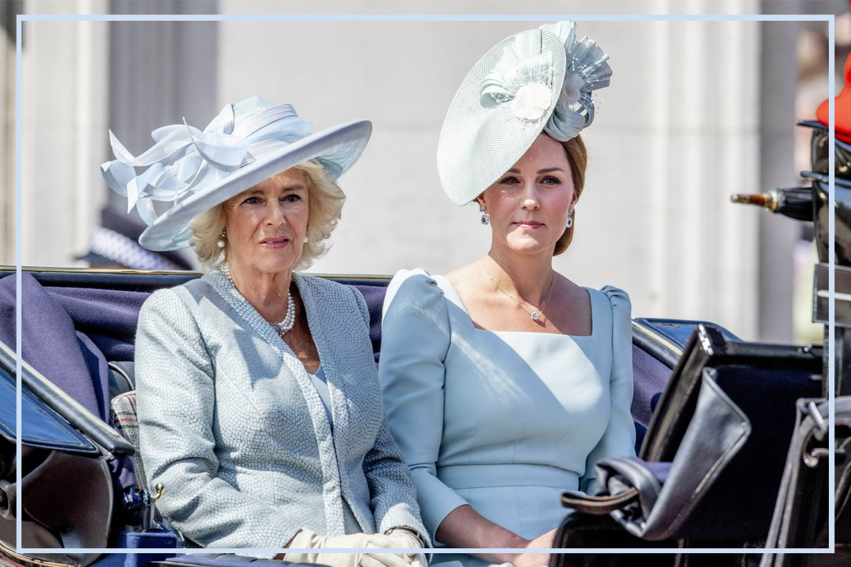 Kate Middleton Camilla Prince William Prince Harry Prince Charles  Duchess of Cornwall   Duchess of Cambridge  Game of Crowns: Elizabeth, Camilla, Kate, and the Throne pretty but dim