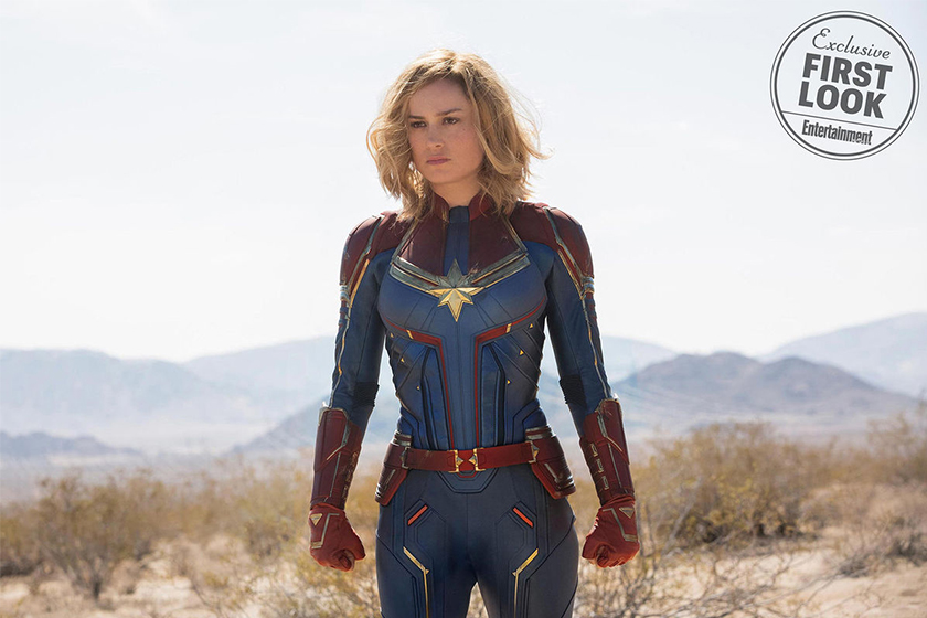 captain marvel first look entertainment weekly