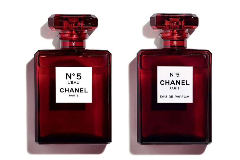 chanel no 5 perfume fragrance red limited edition bottle