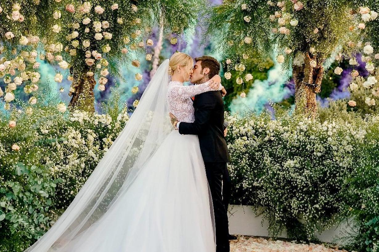 chiara ferragni wedding gown dress dior haute couture maria grazia chiuri secret