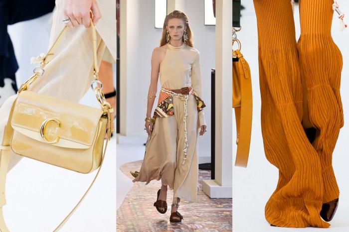 #PFW:專屬 Chloé 女生的城市遊牧,全新 Logo 手袋成為下季 It Bag 潛力股?