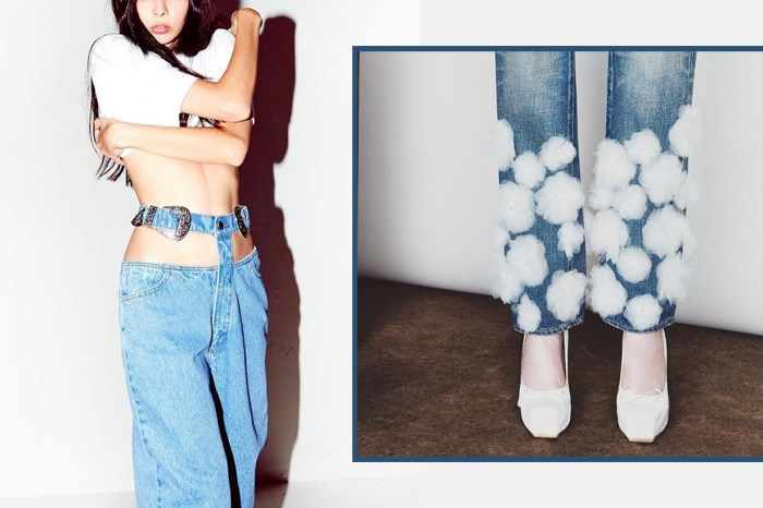 穿膩了普通牛仔褲?這些特別款你敢嘗試嗎?