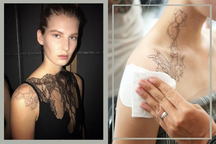 #NYFW:這個品牌用紋身搭配衣服,更帶起了全新的紋身潮流!