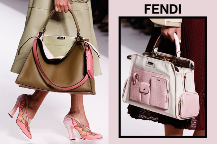 #MFW:Fendi  發佈 2019 春夏系列,更實用、更年輕化的手袋就是今季的亮點!