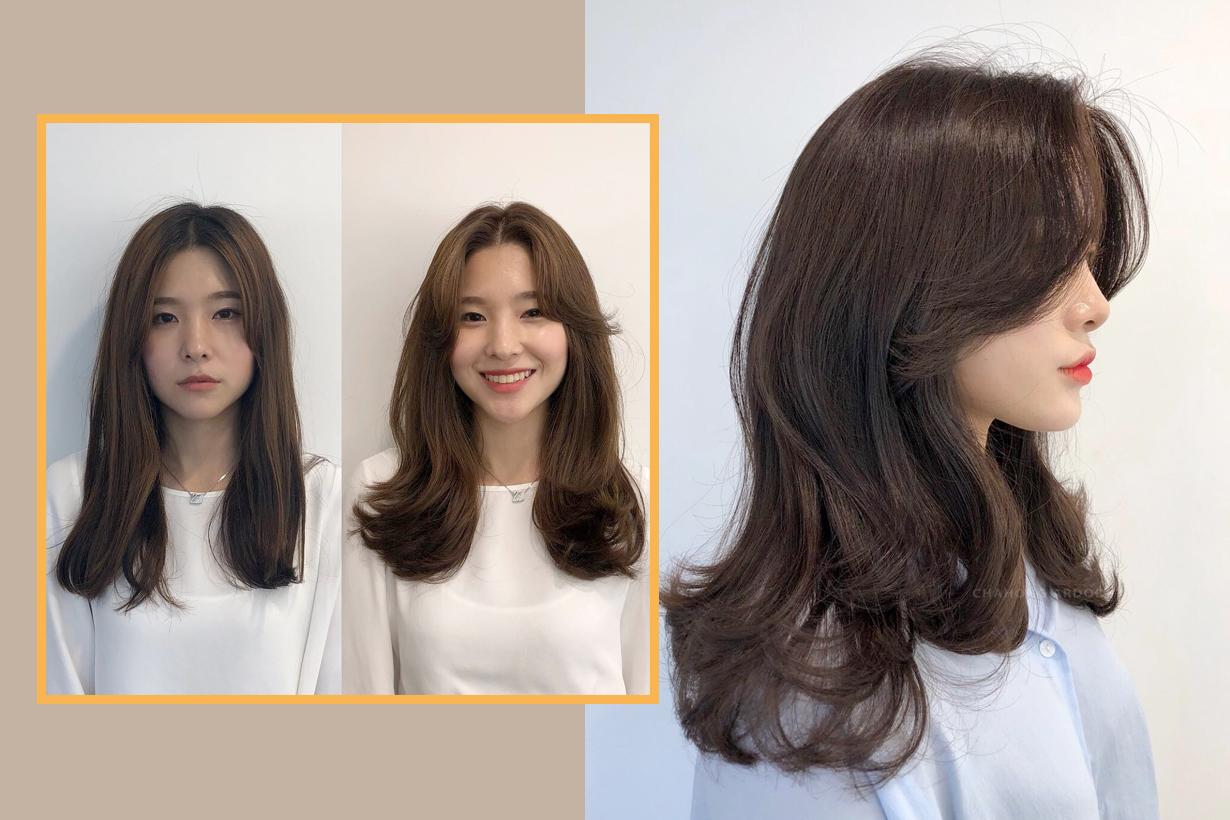 korean hair stylist jung_eunhye__ blower curly hair
