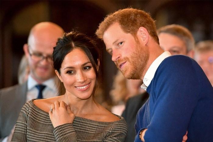 一個溫柔的小舉動,就感受到梅根與哈里王子對彼此的愛意!