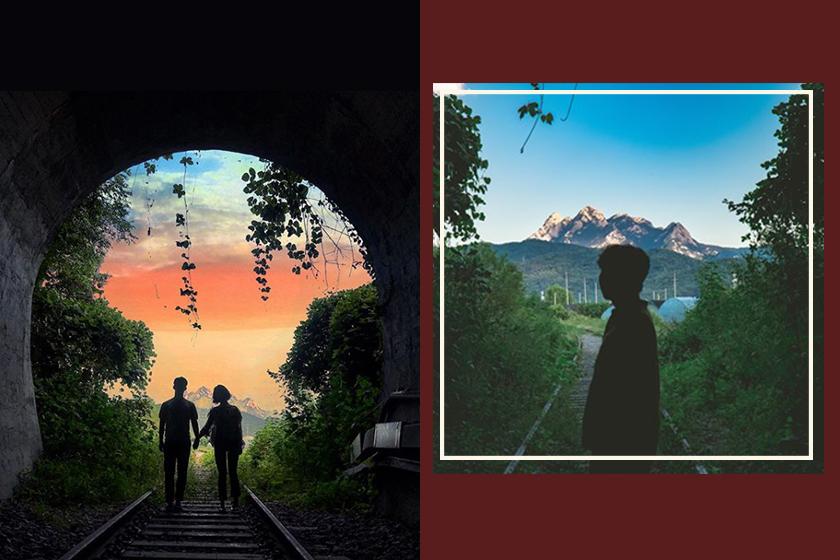 instagram spot korea Byeokje abandon train tunnel