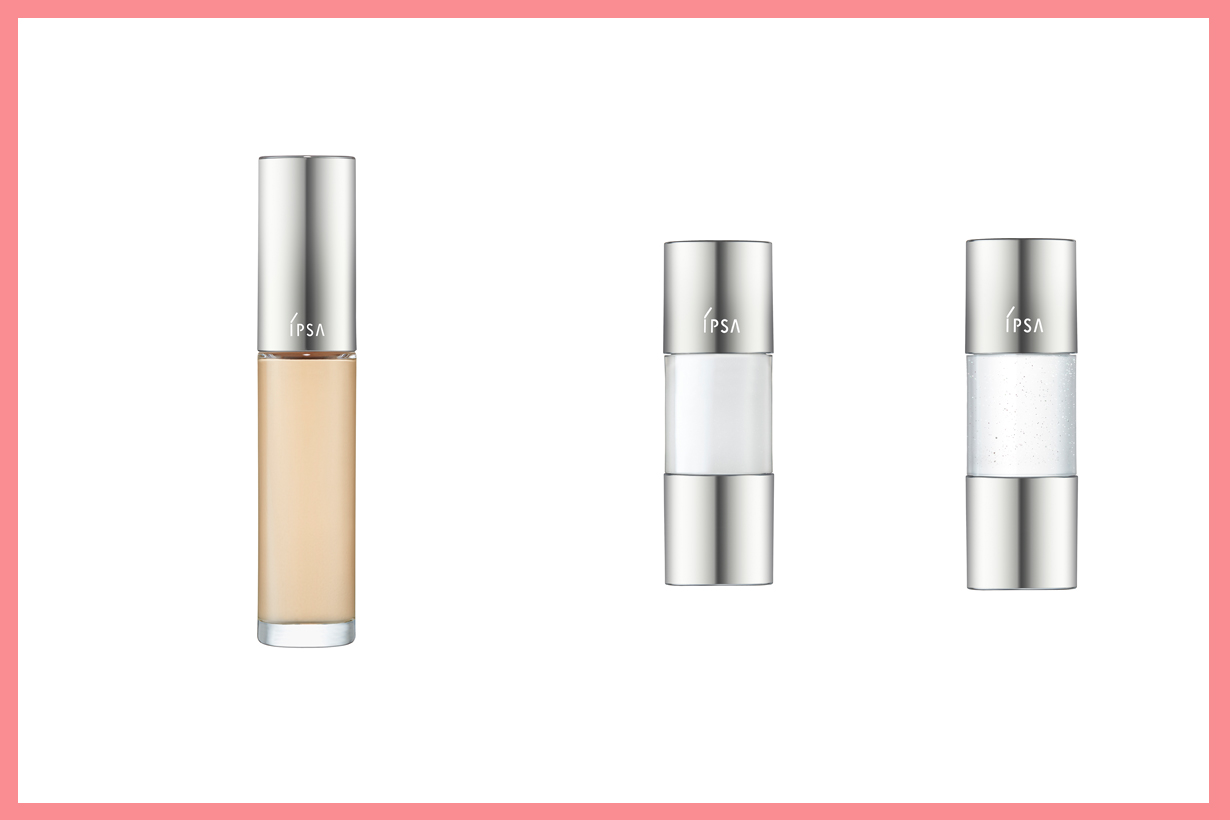 Ipsa Retexturing Foundation Creative Oil Airy White Sheer Gold mixing foundation base makeup japanese cosmetics