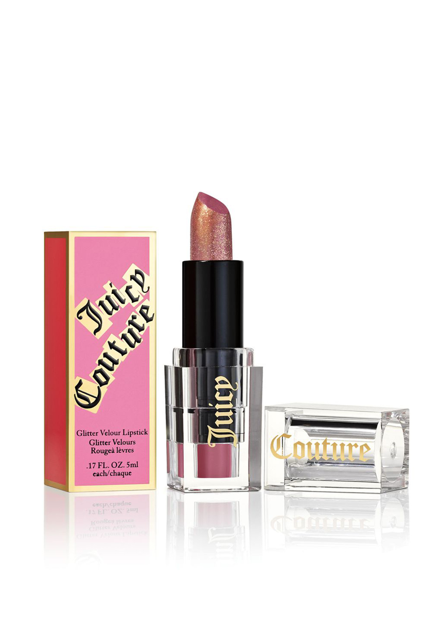 Juicy Couture Fashion brand Paris Hilton Tracksuit Fragrances Oui Limited Edition Cosmetics Line eyeshadow palette Lipsticks eyeliner