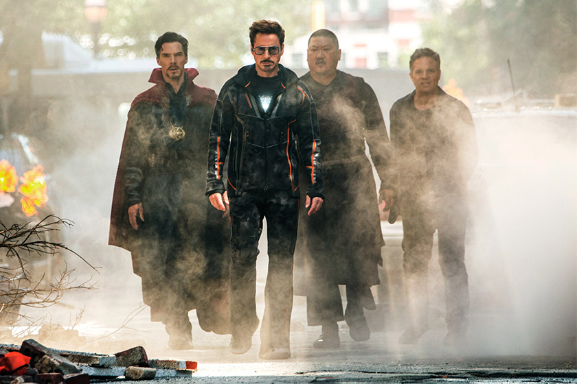 marvel avengers 4 russo brothers on set photo clues