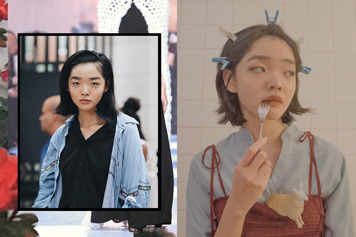 duan mei yue fashion week nyfw tory burch model singapore avatar asian follow @dmeiyue