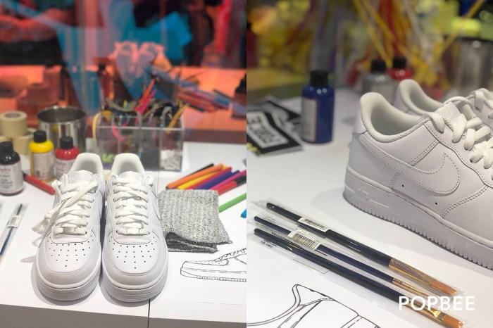 除了 iD 以外,這次 Nike 準備了可以「動手作」的有趣客製活動!