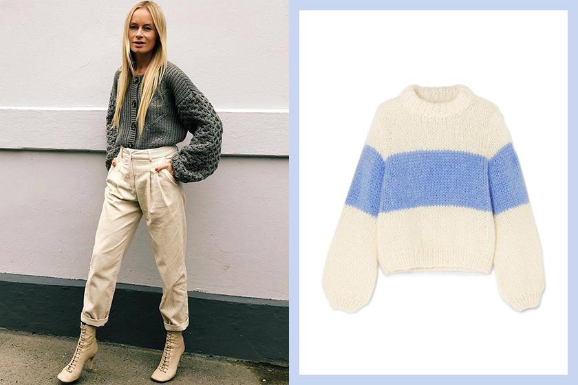 nordic-fall-winter-wardrobe chunky knit