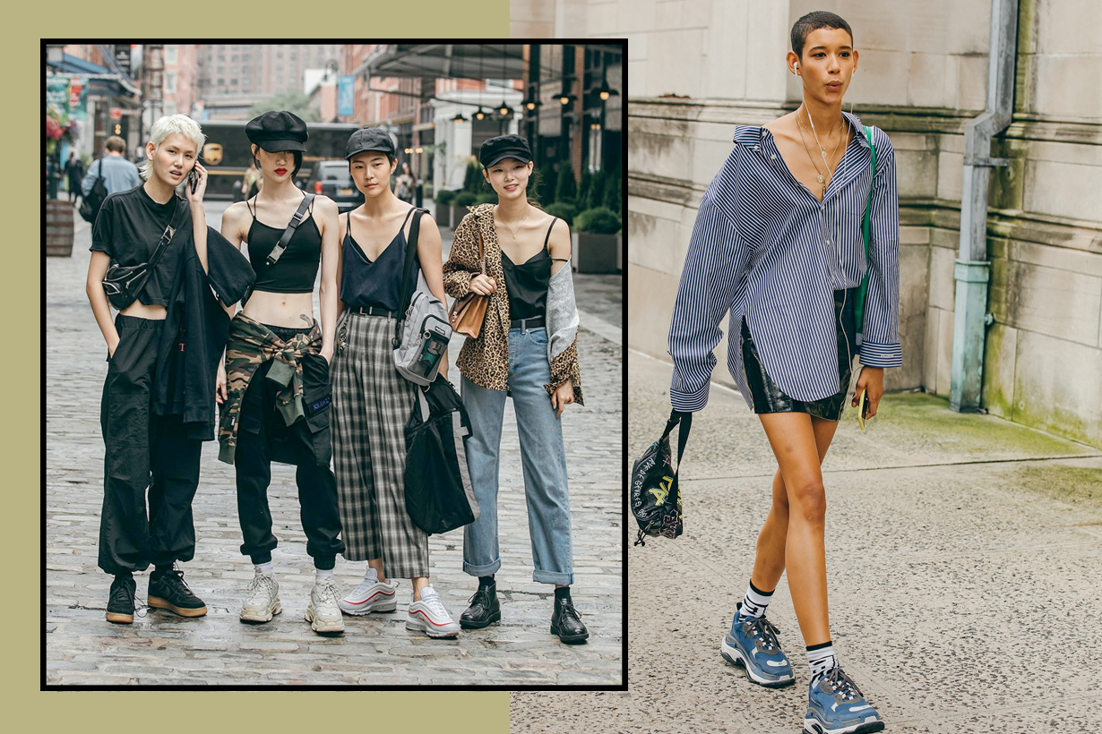 off duty model fahsion week jaylim comfy chic stylish streetsnaps