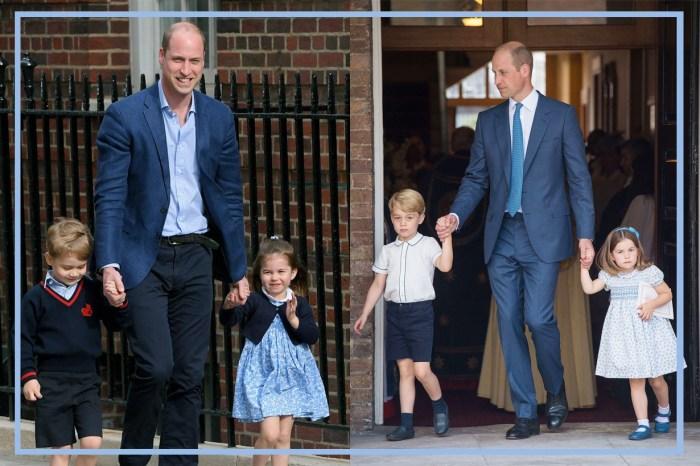 威廉王子也有幽默時!這次竟然拿自己的孩子開玩笑?