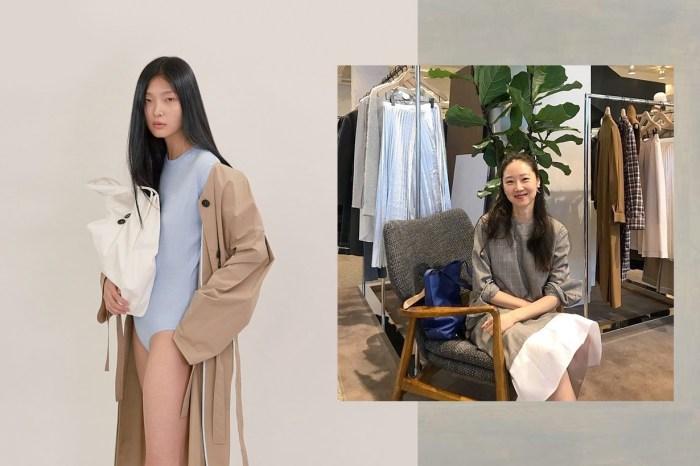 是哪個韓國小眾品牌一推出新品,讓孔曉振馬上直奔店裡試穿!