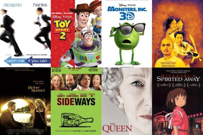 不能錯過的電影!20 年來「爛番茄」中最高評價的電影名單在此看!