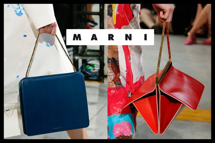 #MFW:簡單又富質感的設計!近看 Marni 最新手袋及鞋履系列