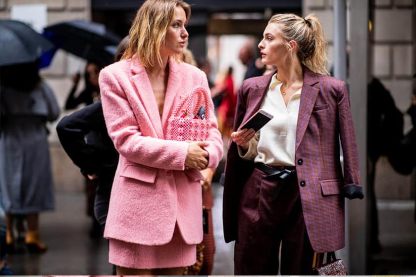 suit-SKIRT STREET STYLE
