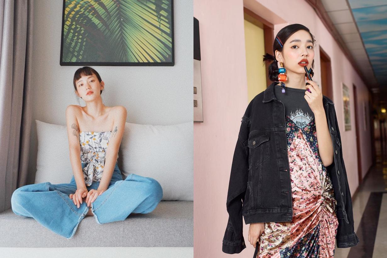 Thai it girl follow instagram Napassanan Natt Pam model