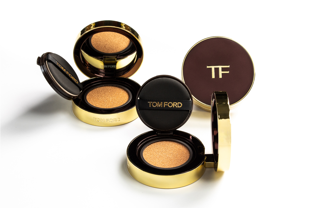 Tom Ford Traceless Touch Foundation SPF 45/PA++++ Satin-Matte Cushion Compact Cosmetics Makeup Kaia Gerber