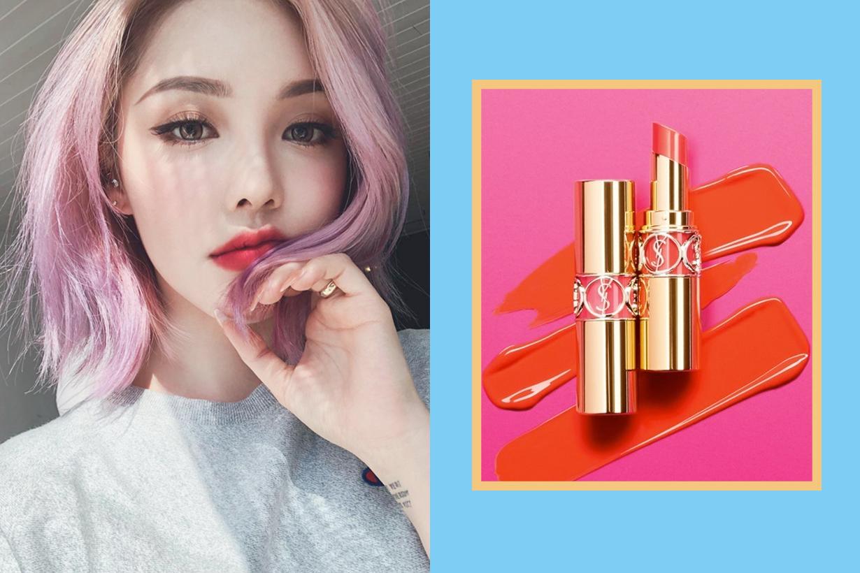 YSL Beauty lipstick mix shine rough secret colour