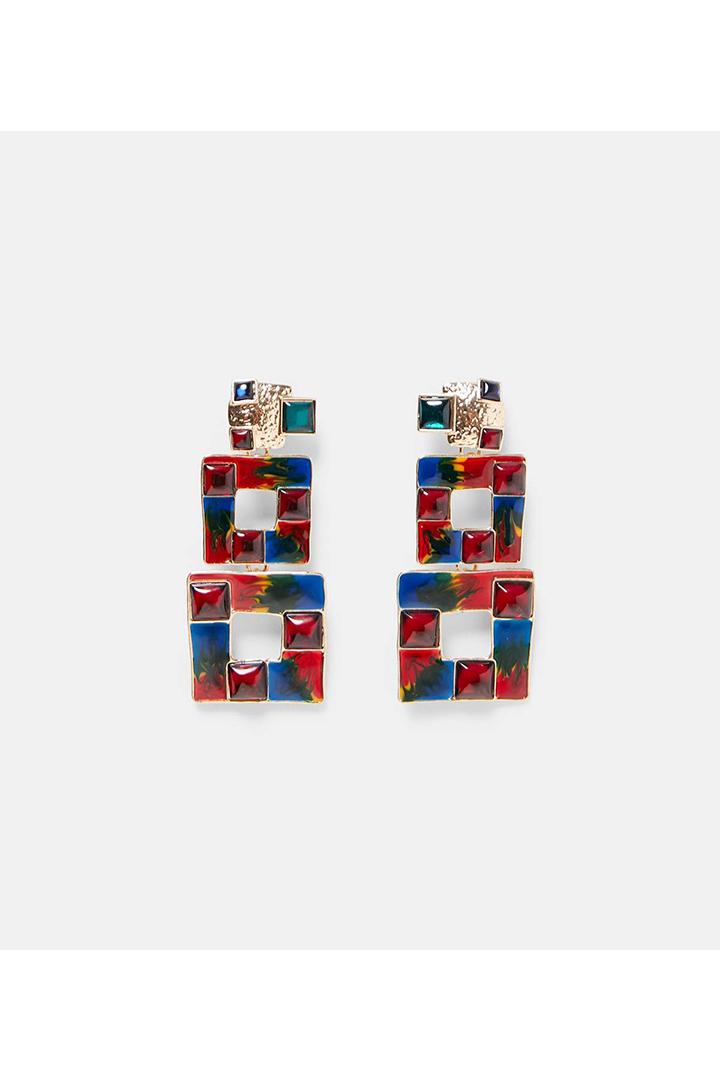 Zara 80s Earrings Trend