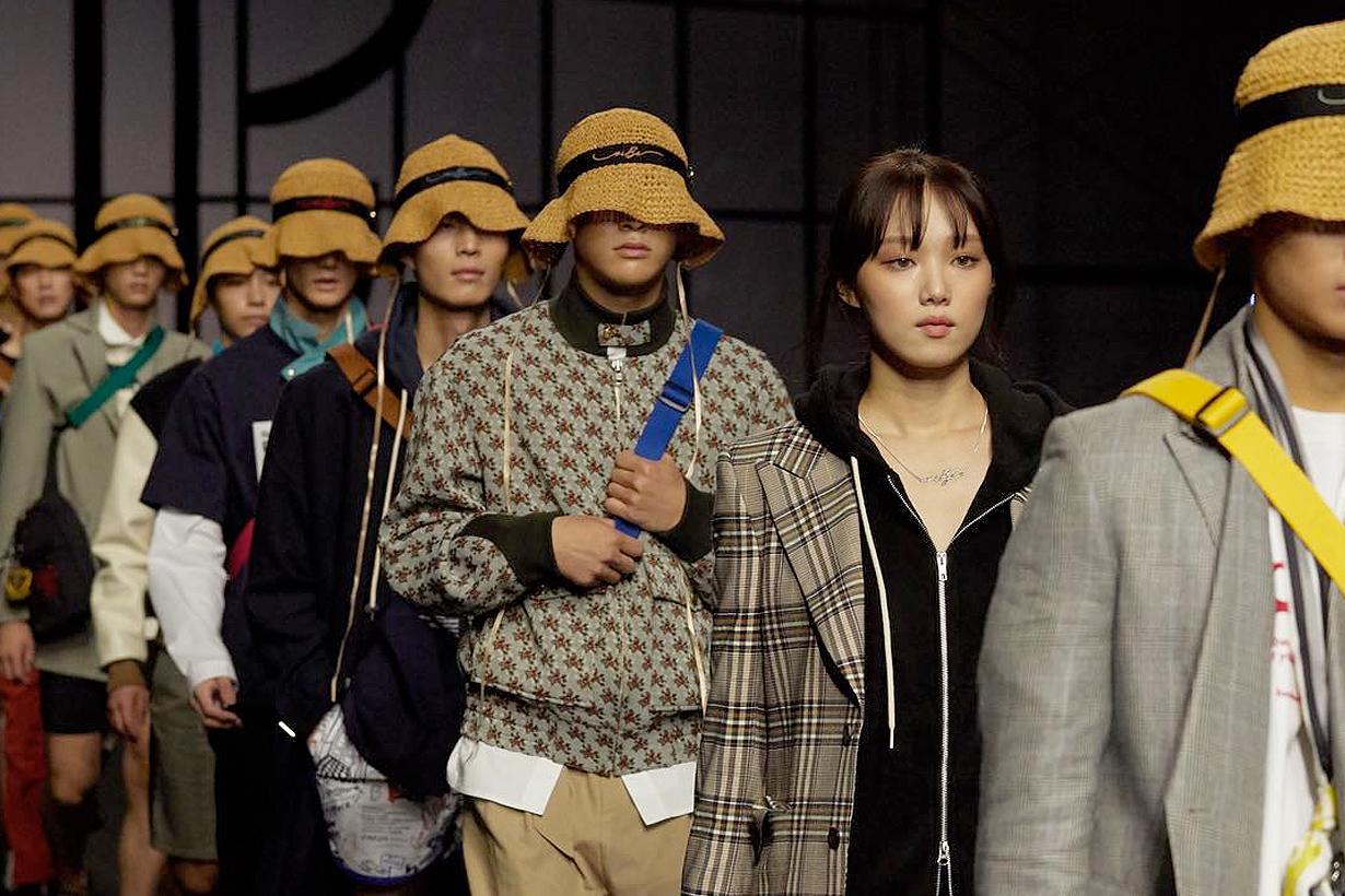 Lee Sung-kyung seoul fashion week beyond closet korean model