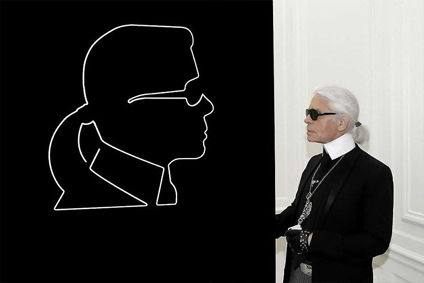 karl lagerfeld first sculptures architecture carpenters workshop gallery in paris