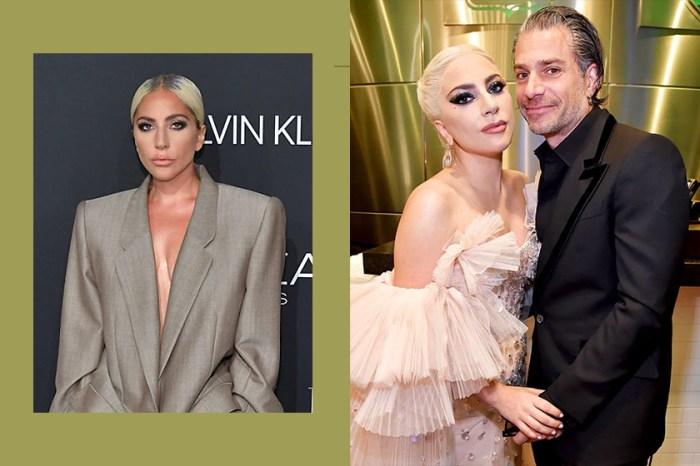 Lady Gaga  霸氣致詞「謝謝我的未婚夫」: 證實與經紀人 Christian Carino 訂婚了!
