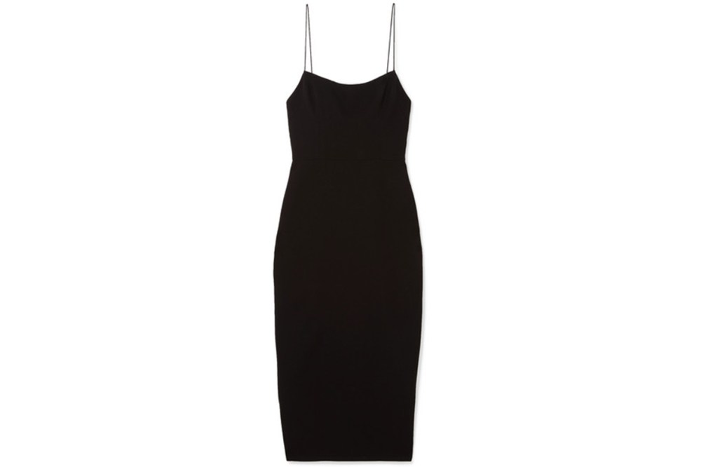 Alex Perry Zane Stretch-Cady Dress