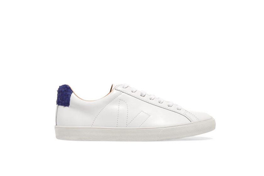 Veja Bastille leather sneakers