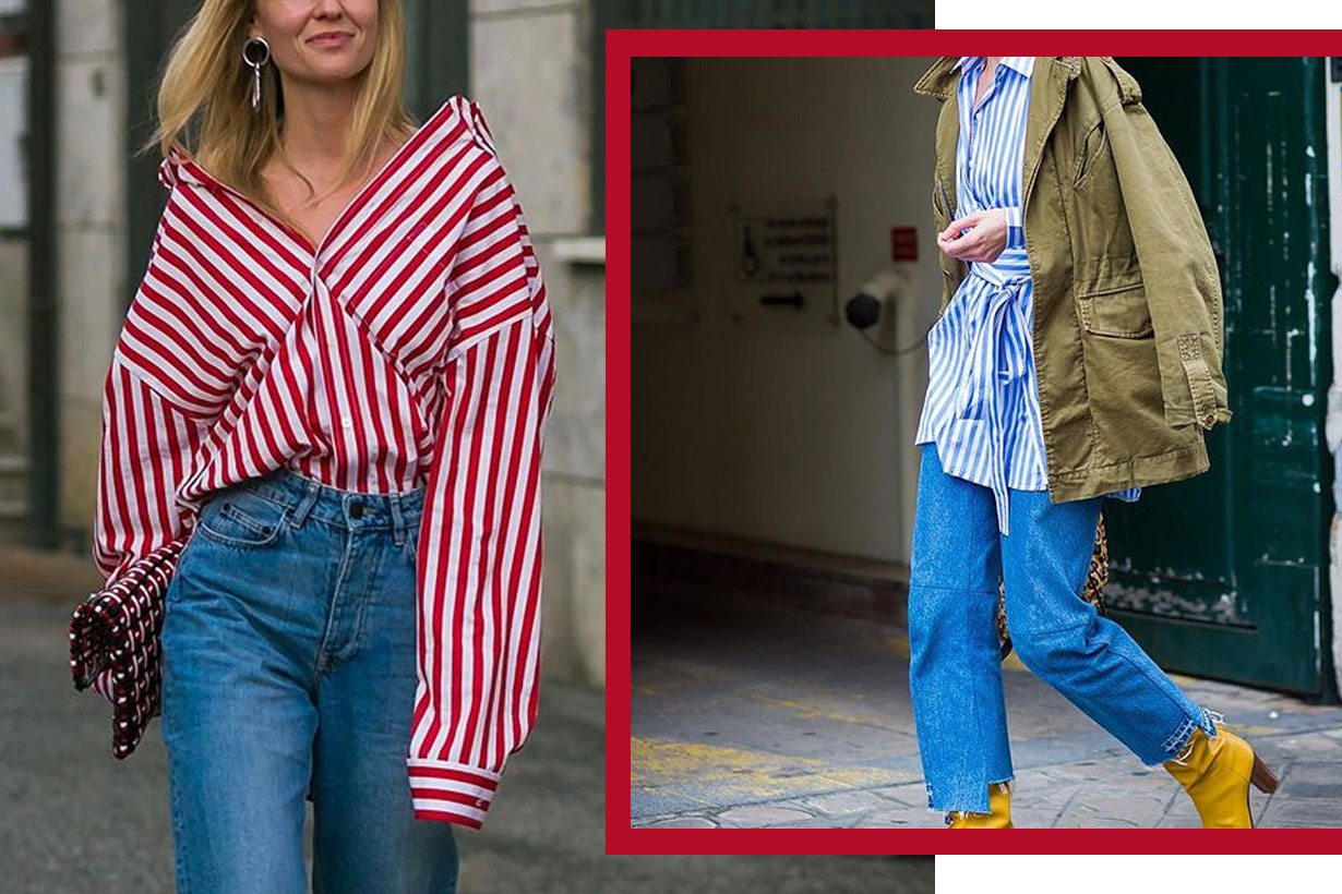 Boyfriend jeans mix and match 2018