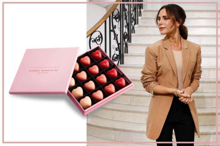 Victoria Beckham 兼任甜品大師!你想品嚐她親製的  10 週年限量版巧克力嗎?