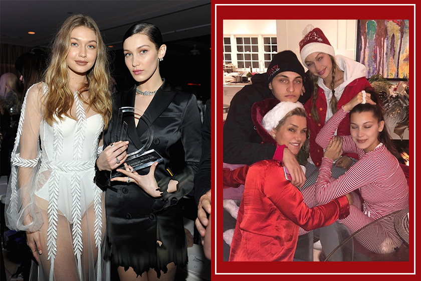 Gigi Hadid revealed family christmas special traditions