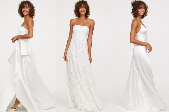 H&M「親民價」婚紗!主打簡約唯美路線,高質得難以置信