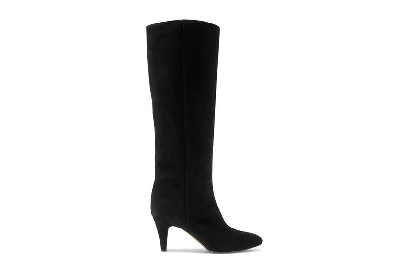 Isabel Marant Latsen Suede Knee Boots