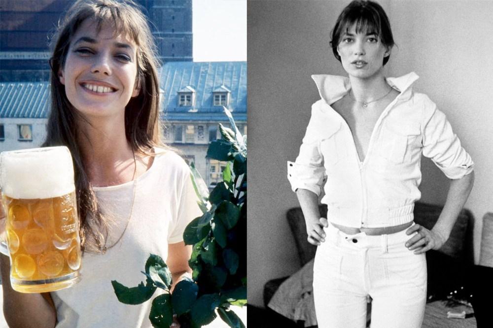 Jane Birkin All White Style