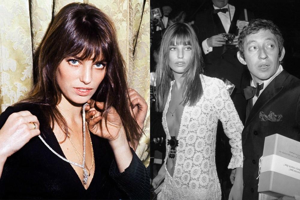 Jane Birkin Deep V Neckline Style