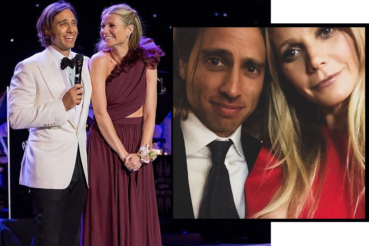 Gwyneth Paltrow Brad Falchuk wedding band