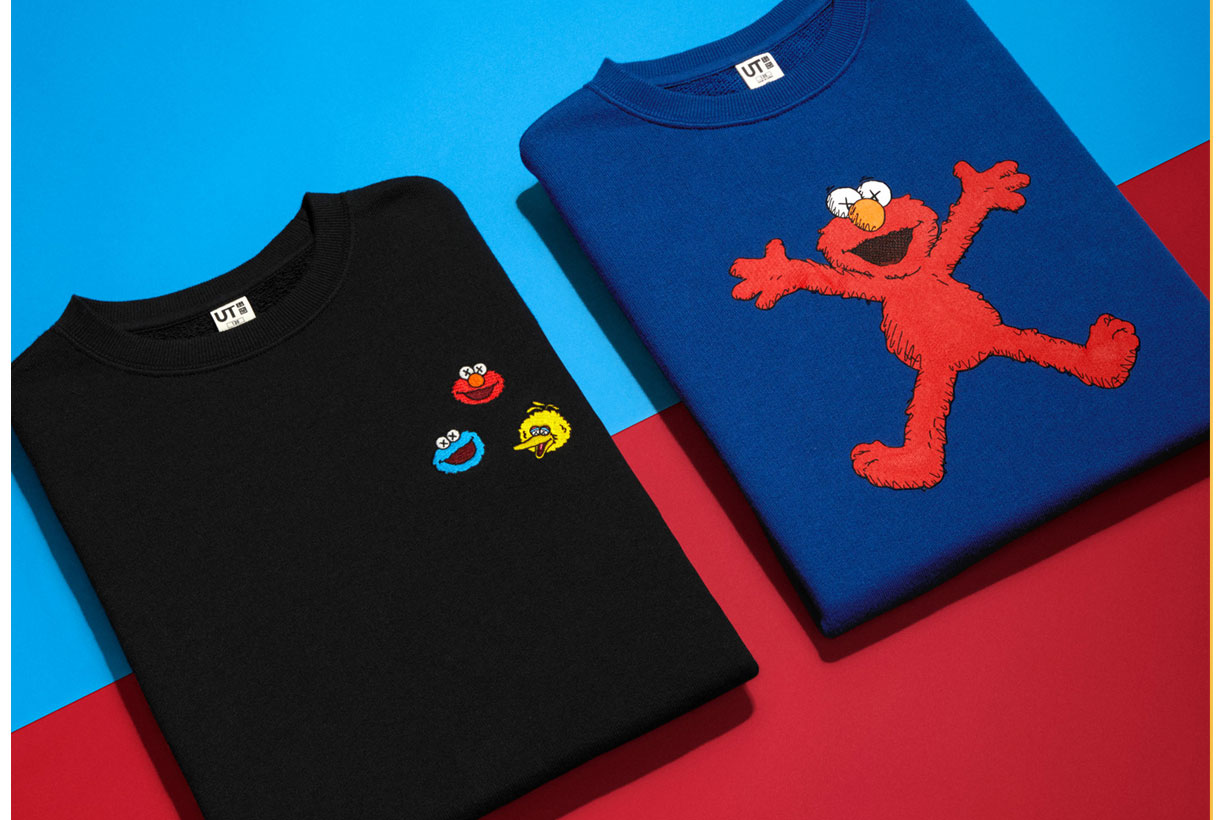 Uniqlo x KAWS x SesameStreet new collection 2018AW