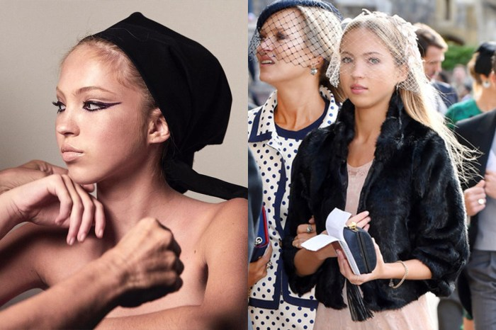 Kate Moss 與女兒出席皇室婚禮,Lila Moss 紗帽造型只有「仙氣」可形容!