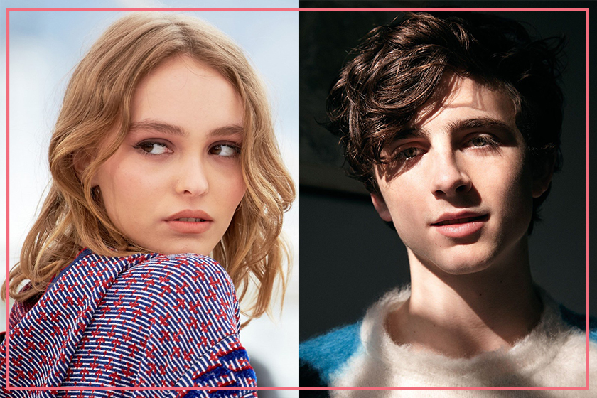 Lily Rose Depp and Timothée Chalamet are dating