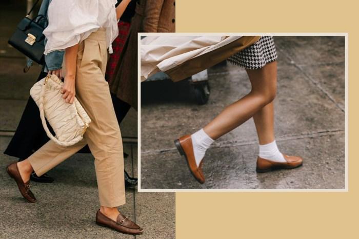 幸好沒有把這對鞋扔掉!時尚女生迷上了這種舊鞋新穿的方式