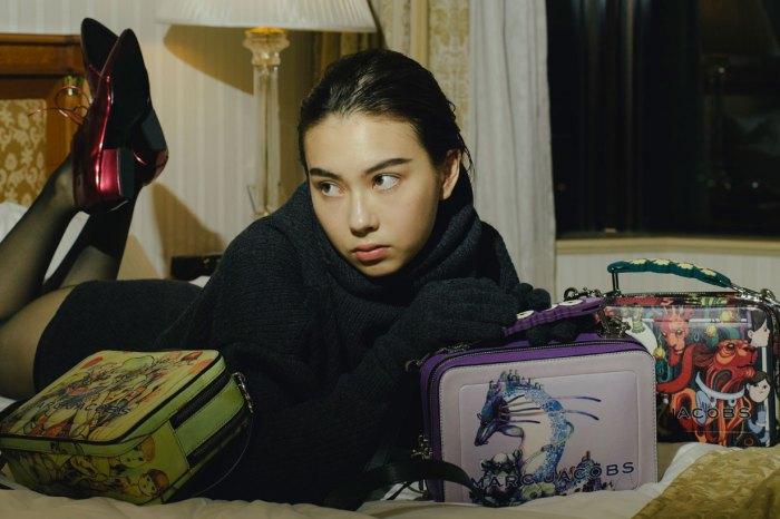 Marc Jacobs 也看上了混血名模 Lauren Tsai 的插畫!聯乘系列根本是藝術品