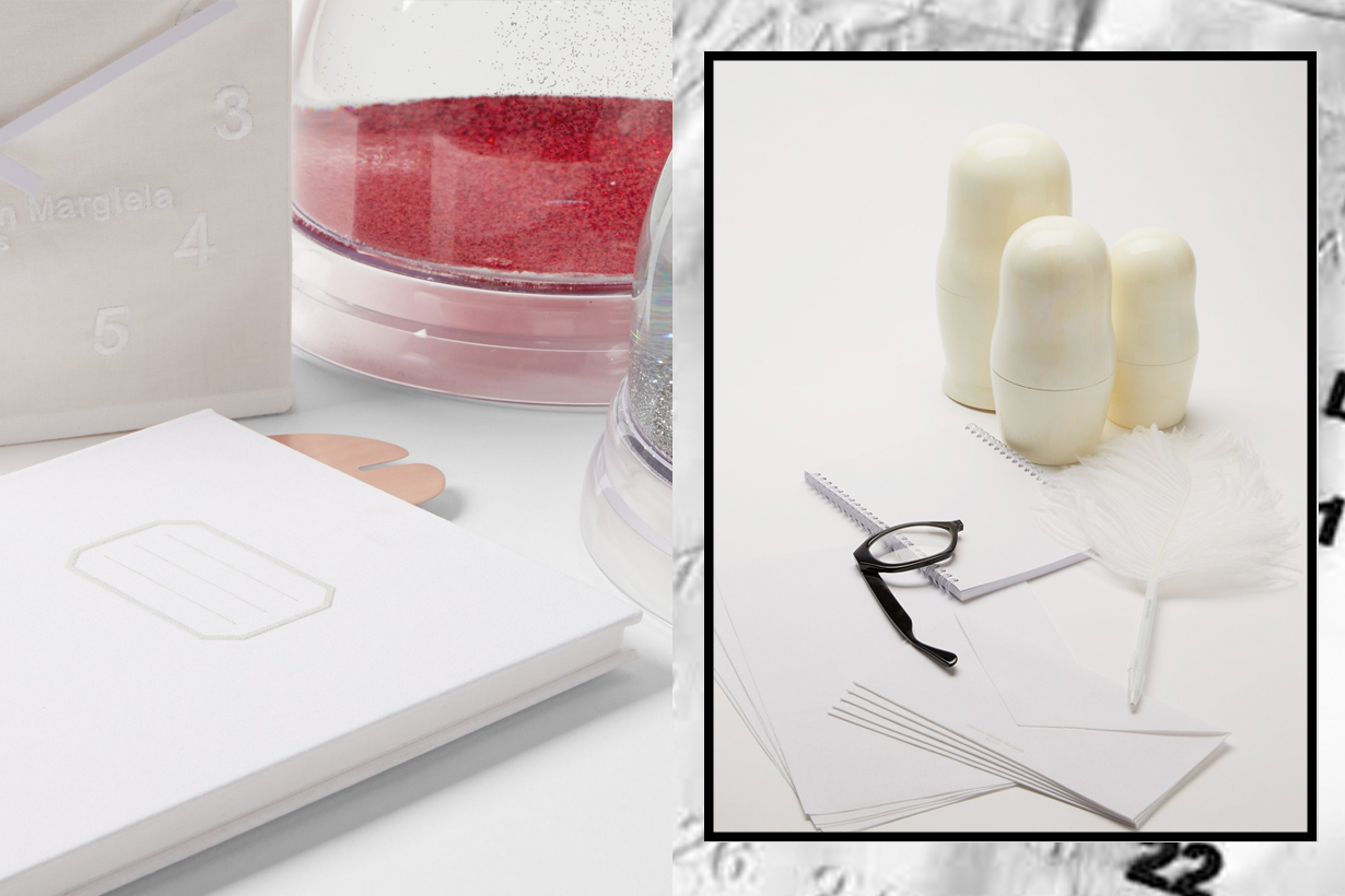 Maison Martin Margiela homeware acc white objetcs