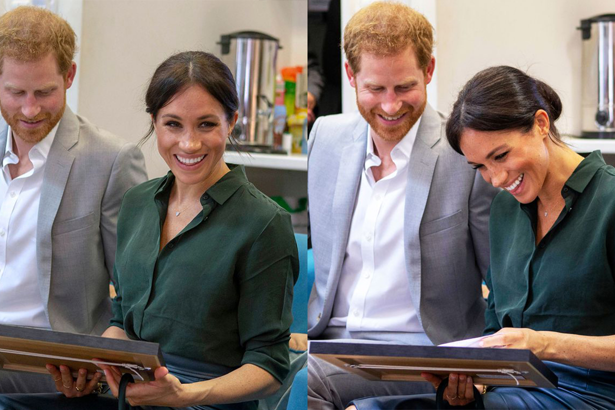 Meghan Markle Received a Drawing of Her Dog