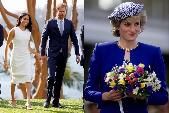 梅根王妃戴上這對耳環公佈喜訊,原來為了向戴安娜王妃含蓄致敬?